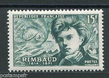 FRANCE, 1951, timbre 910, RIMBAUD, neuf**