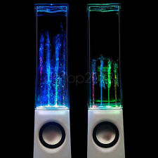 New White Water Dancing LED USB Fountain Speakers