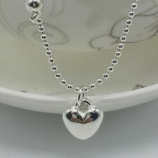 Silver Plated Love Barefoot Bracelet Jewelry Foot Chain Anklet Gift