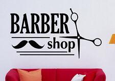 Barber Shop Wall Decal Vinyl Sticker Hair Salon Interior Murals Decor (16hsl)