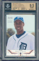 2002 upper deck prospect premieres #17a CURTIS GRANDERSON rookie BGS 10 9 9.5 10