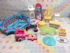 Barbie Doll Random Accessories Doll House Toys Retro Vtg Lot Plastic Mattel Play