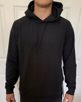 Lululemon Men's Size XS City Sweat Pullover Hoodie Black BLK Jogger Yoga Top Run