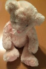 Russ Pink Bear Named Blush (I Heart Mom on Paw)