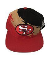 Vintage San Francisco 49ers Logo Athletic Splach Snapback Football Hat
