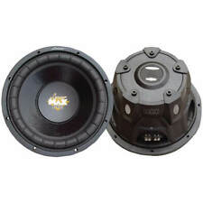 "New listing  Lanzar MaxP104D Max Pro Series 10"" Dual Voice Coil Subwoofer 1200W"