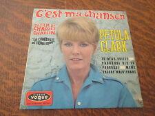 """45 tours petula clark c'est ma chanson du film de charles chaplin """"la comtesse d"""