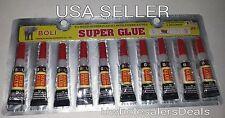 Super Glue - 'Cyanoacrylate Adhesive' 10 Tubes