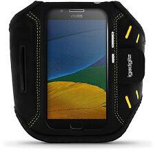 Nero Fascia Braccio Armband per Motorola Moto 5 ° Gen (Moto G5) Sport Jogging