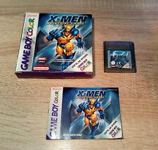 Nintendo Gameboy Color (GBC) / X-Men - Wolverine's Rage +OVP +Anleitung /dt. CIB