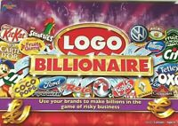 Logo Billionaire Board Game - Drumond Park - Complete - Used - Good Condition