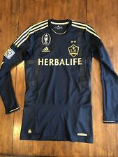 NEW Adidas Los Angeles LA Galaxy LS Player Issued Jersey Rare Size Large