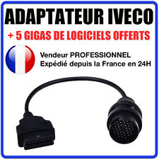 Adaptateur OBD2 vers IVECO DAILY 38 BROCHES - DIAG Auto Valise Diagnostic ELM327