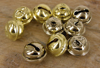 Christmas Bells,  Silver or gold, jingle,Charm  Pendant , 18 mm 50 pack