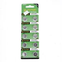 10pcs AG10 389 LR54 SR54 SR1130W 189 L1130 SB-BU Alkaline Button Cell Battery