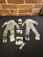 """Vintage G.I. Joe Clothing Space Suit 1:6 Scale for 12"""" Doll with Accessories"""