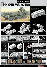 1/35 Dragon Black Label MIM-104B Patriot (SAM) System (PAC-1) w/M983 HEMTT #3558