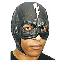 Adult Men's Superhero Super Hero Kick Ass Vigilante Costume Lightning Bolt Mask