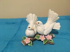 Homco Home Interiors - 1453 - Two White Doves Figurine Pre-owned