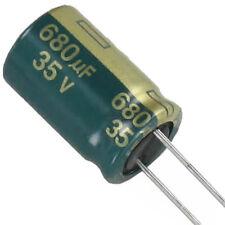 Nichicon Elko ukl1h680mpd 68uf 50v 10x12,5mm rm5 250ma #bp 10 PCs