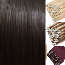 Hair Extensions Real Natural feel black dark Gold brown ash golden light blondes
