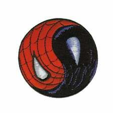 Spiderman Yin Yang Embroidered Iron On Patch -   Marvel Comics  051-P