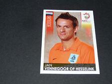N°275 VENNEGOOR OF HESSELINK PAYS-BAS NEDERLAND PANINI FOOTBALL UEFA EURO 2008