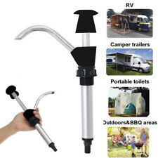 1xCaravan Dissipateur Eau Pompe Manuelle Mètre Camping Remorque Mobile-Home 4wd