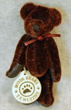 New 1999 Boyds Bears Tyrone F. Wuzzie Dark Brown Bear #595160-05
