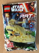LEGO SET star wars POLYBAG FIGURINE MINIFIG NEUF VAISSEAU TANK DROID AAT LIMITED