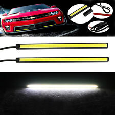 2 x White 12V 60 LED Strip Daytime Running Light DRL Car Fog Day Driving Lamp