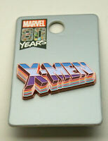 80 years Marvel Comics X-Men Exclusive Lapel Pin New MOC