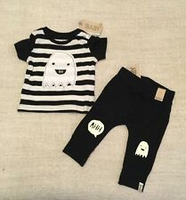BNWT !! cotton on baby BABY Boys Outfit Tee and Pants Size 3-6m