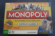 Monopoly Electronic Banking Edition Game [2007] Family Ages 8+ Debit