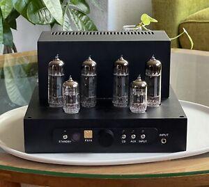 Jolida Glass FX 10 Tube Integrated Amplifier: Black (No Remote)