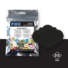 PME Cake Icing Sugar Modelling Sugarpaste Gum Paste Decoration Black200g (7oz)