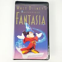 Walt Disney Masterpiece Fantasia VHS 1991 Very Good Condition. Christmas Lead