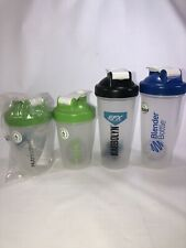 Blender Bottle Shaker Bottle Lot Set Of 4 Two 16 Oz Two 24 Oz CLEAN