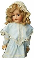 """Large 30"""" Antique Queen Louise Doll Bisque Head German Armand Marseille A.M."""