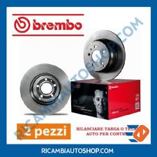 2 DISCHI FRENO POSTERIORE BREMBO ALFA ROMEO 75 90 ALFETTA GT GIULIETTA GTV
