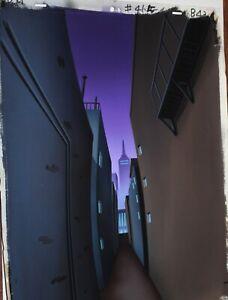 Original production background  - Batman Beyond