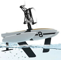 WATER MiniDrones Newz White Hydrofoil Drone Smartphone App Control FLY OR SAIL