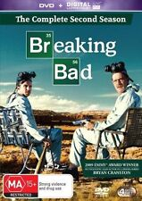 Breaking Bad : Season 2 (DVD, 2014, 4-Disc Set)