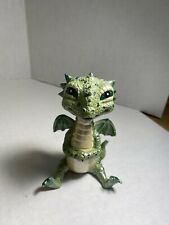 """Whimiscal Little 4"""" Young Green Dragon Fantasy Creatures"""