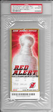 2012 Los Angeles KINGS Stanley Cup FINALS Game 1 FULL TICKET NJ Devils PSA/DNA
