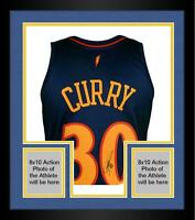 Frmd Stephen Curry GS Warriors Signed M&N 2009-2010 Throwback Swingman Jersey