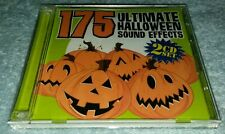 175 ULTIMATE HALLOWEEN SOUND EFFECTS 2 CD SET