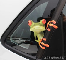 2PC 20*23cm Frog Funny Car Stickers Truck Window Vinyl Decal Graphics Sticker