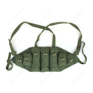 Chinese Chicom Type 56 Chest Rig 7.62x39 30 round Magazine Pouch Ammo Pouches