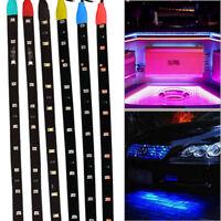 Flexible LED Strip Underbody Light Waterproof Car Motor Boat Blike Decor 12V US